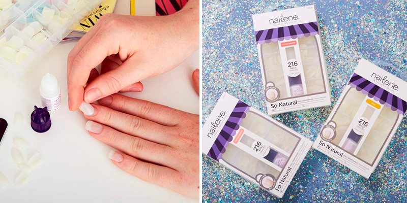 Review of Nailene False Nails So Natural Full Cover Active Square