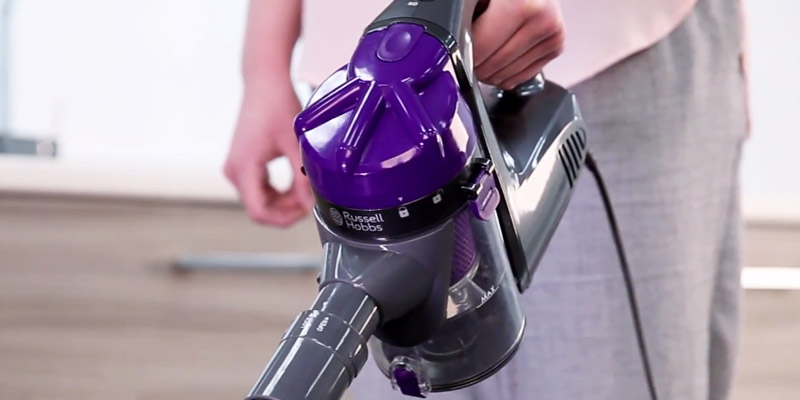 Review of Russell Hobbs RHCHS1001 Corded Handheld Stick Vacuum Cleaner