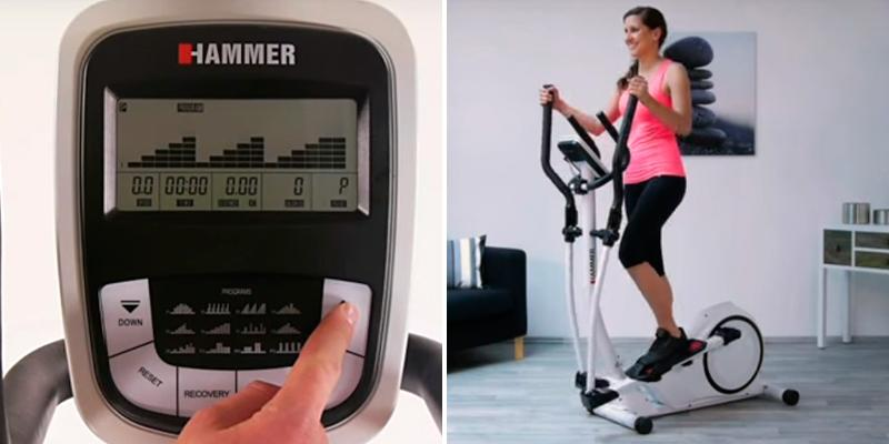 Hammer Crosstech XTR Programmable Cross Trainer in the use