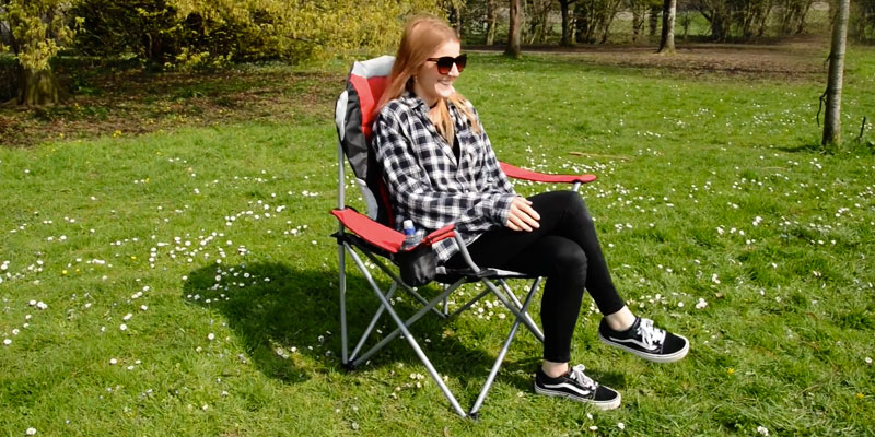 Review of Trail Kestrel Padded Folding Camping Chair