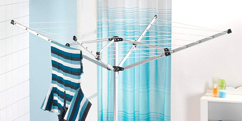 Review of Oypla Rotary Airer Portable Washing 15m 4 Arm Lightweight Free Standing Aluminium
