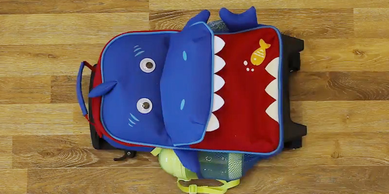 Review of Yodo Shark Backpack with Wheels