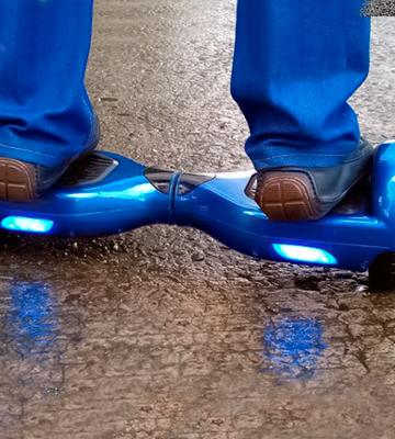 Review of Bluefin 6.5 Classic Swegway Hoverboard with Built-in Bluetooth Speakers and Carry Bag