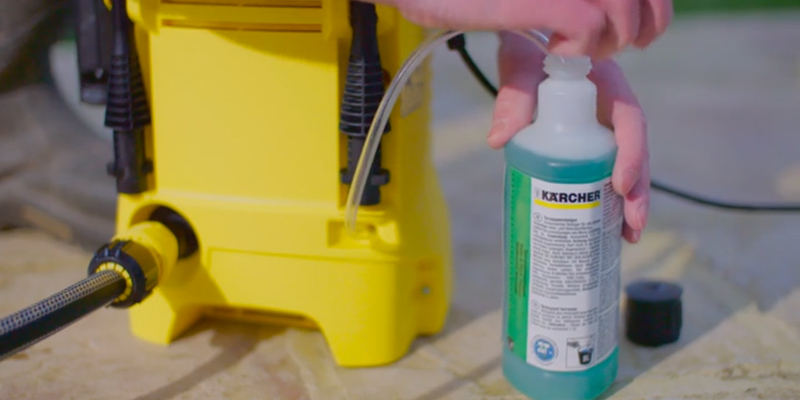 Karcher K2 Compact Pressure Washer application