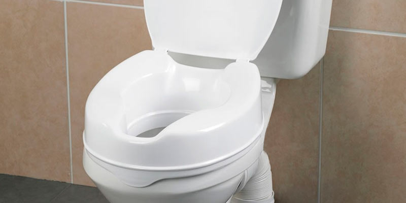 Review of Drive DeVilbiss Healthcare Raised Toilet Seat with Lid