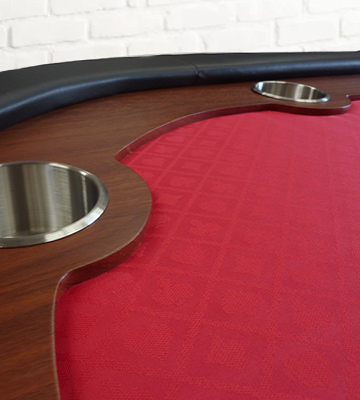Review of Redtooth Poker PT 10-Seat Speed Cloth Poker Table