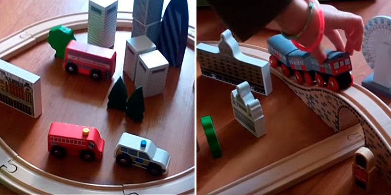 Review of Tidlo City of London Wooden Train Set