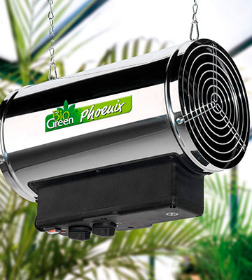 Review of Bio Green Phoenix (PHX 2.8/GB) Greenhouse Fan Heater