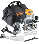 VonHaus 15/302 Compact Deluxe Palm Router Saw