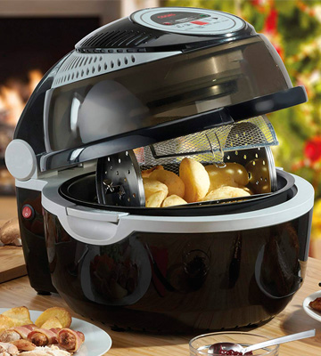 Review of Cooks Professional G2650 Halogen Oven with Rotisserie