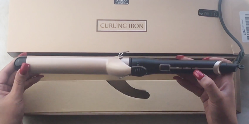 Review of Anjou AJ-PCA005 Curling Wand
