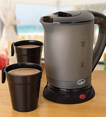 Review of Quest 35690 Compact Travel Electric Kettle Dual Voltage