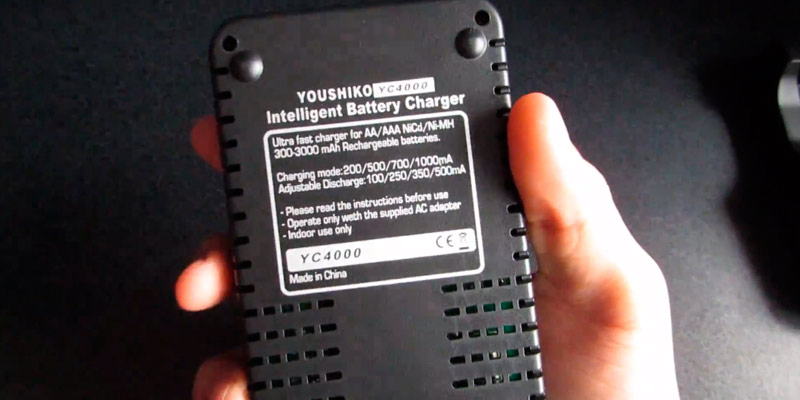 Youshiko YC4000 Professional Standard Battery Charger in the use