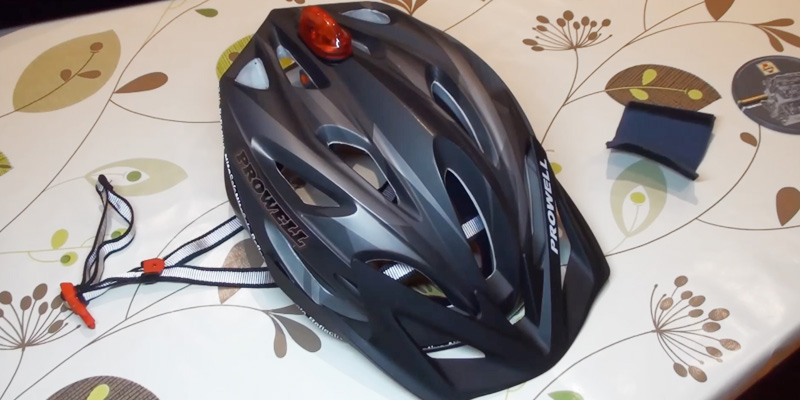 Review of Prowell F59R Vipor Cycle Helmet + SharkFIN Light Worth