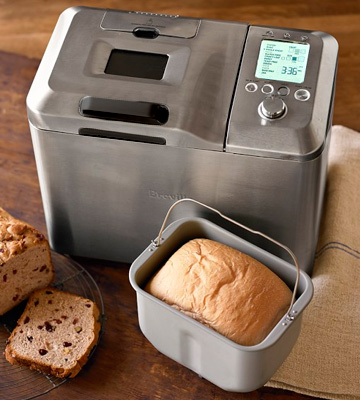 Review of Sage BBM800BSS he Custom Loaf Pro Bread Maker