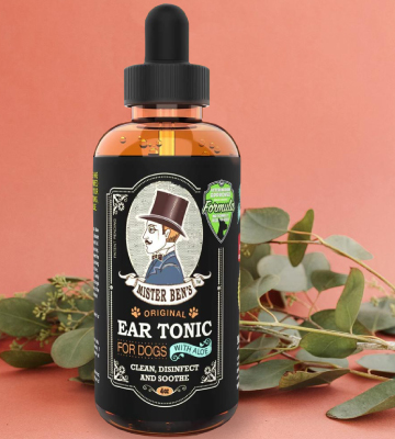 Review of MISTER BEN'S NATURAL Ear Tonic w/Aloe for Dogs