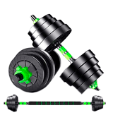 Top Power Lube 20Kg Dumbbells Pair of Gym Weights Barbell
