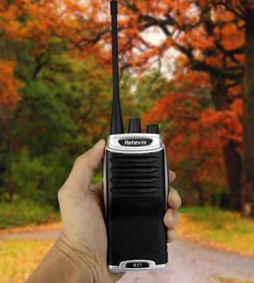 Review of Retevis RT7 Walkie Talkie
