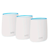 NETGEAR Orbi (RBK23) Whole Home Mesh Wi-Fi System (Up to 4500 sq ft Coverage), Tri-Band AC2200 (2.2 Gbps)