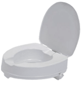 Drive DeVilbiss Healthcare Raised Toilet Seat with Lid