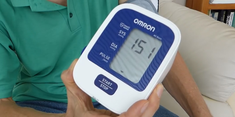 Review of Omron M2 Basic Upper Arm Blood Pressure Monitor