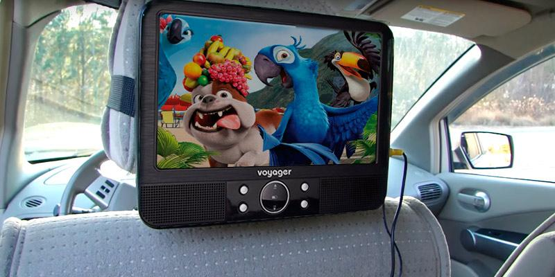 Review of Voyager VYDVD9-PP Twin Player Portable DVD System