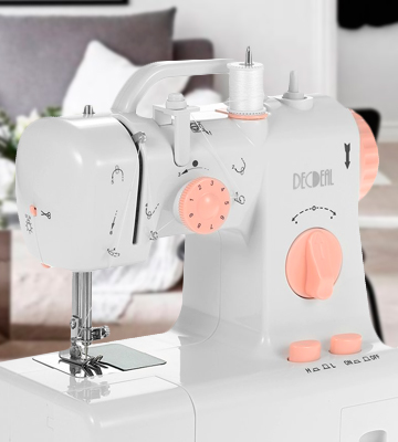 Review of Decdeal YUT0211331151416TZ Portable Sewing Machine