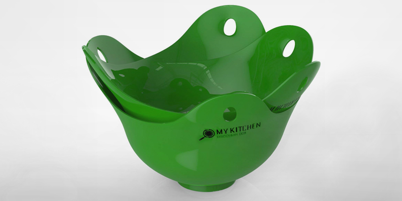 Review of Kitchen Discovery KD2 4 pack Egg Poacher