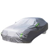 MATCC MATCCwoitxol107 Car Cover Waterproof Snow Cover Full Size Cover All Season All Weather Protect from Moisture Snow Frost Corrosion Dust Dirt Scrapes Fit Most of Cars