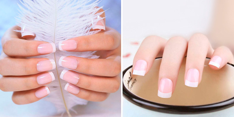 Review of LIARTY False Nails 240 Pieces French False Nails Tips Short