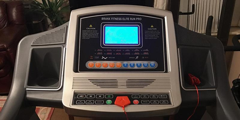 Review of Branx Fitness Foldable Touchscreen Console Treadmill