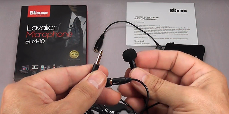 Review of Blixxo BLM-10 Lavalier Microphone