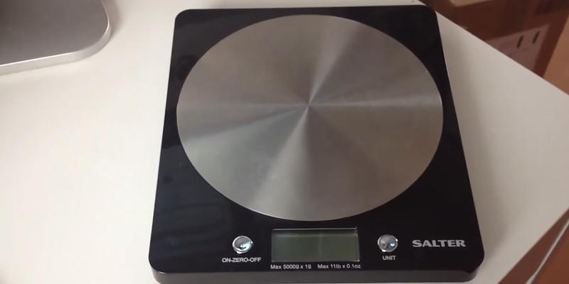 Review of Salter Disc Electronic Digital Kitchen Scale
