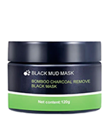 LDREAMAM Black Mud Charcoal Face Mask