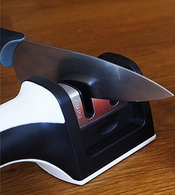 Review of Harcas Knife Sharpener 2 Stage Sharpening System