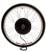 PetrolScooter 48v 500w 26 Inch Electric Bicycle front Wheel Conversion Kit
