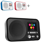 Pure Elan IR5 Portable Internet Radio with Bluetooth, Spotify Connect and TFT Screen
