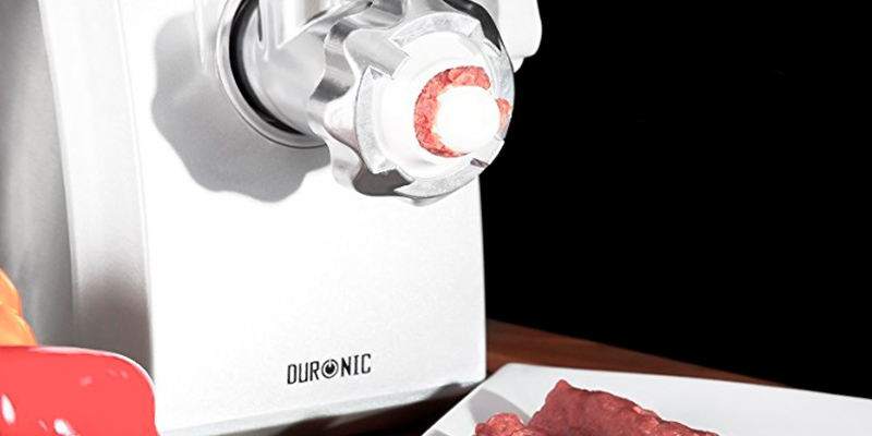 Detailed review of Duronic MG1600 Electric Meat Grinder