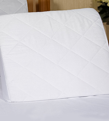 Review of Comfortnights Bed Wedge with Washable, Quilted Poly Cotton Cover