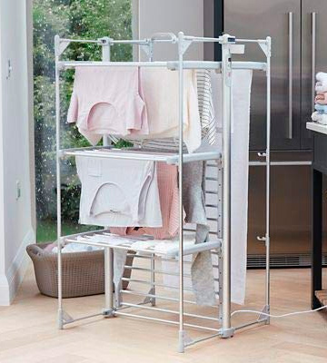Review of DRY SOON Heated Airer Deluxe 3-Tier