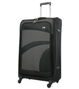 Aerolite Super Lightweight Four Wheel Spinner Luggage Suitcase (Medium)