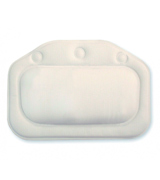 Croydex BG207022 Plain White Croydelle Bath Pillow