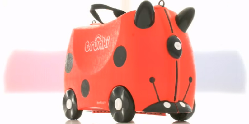 Review of Trunki Harley the Ladybug / Ladybird