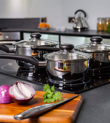 Review of Morphy Richards Equip Pan Set