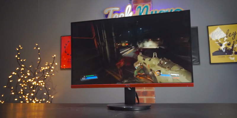 AOC G2590VXQ Full HD Gaming Monitor in the use