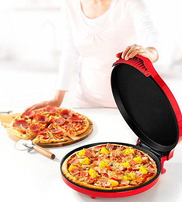Review of Princess 115001 Pizzera of 30 cm Diameter and Adjustable Thermostat, 1450 W