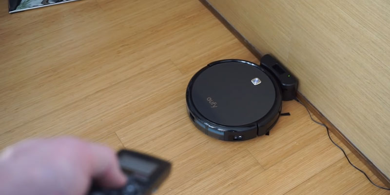 Eufy RoboVac 11c Robotic Vacuum Cleaner in the use