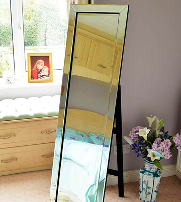 Review of MirrorOutlet 5FtX1Ft3 Free Standing Cheval Dress Mirror