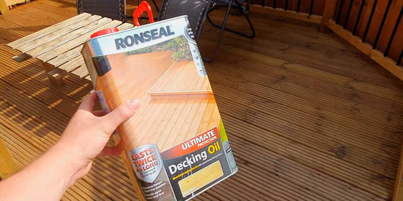 Review of Ronseal 37299 Ultimate Protection Decking Oil