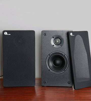 Review of 1 BY ONE 436UK-0005 Wireless Classic Bookshelf Speaker System